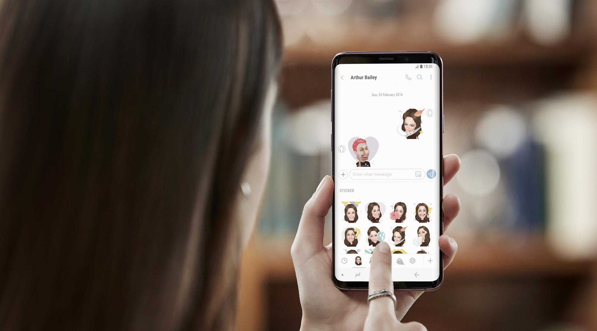 3 starter pre-sale af de nye Samsung Galaxy S9 og S9+ modeller