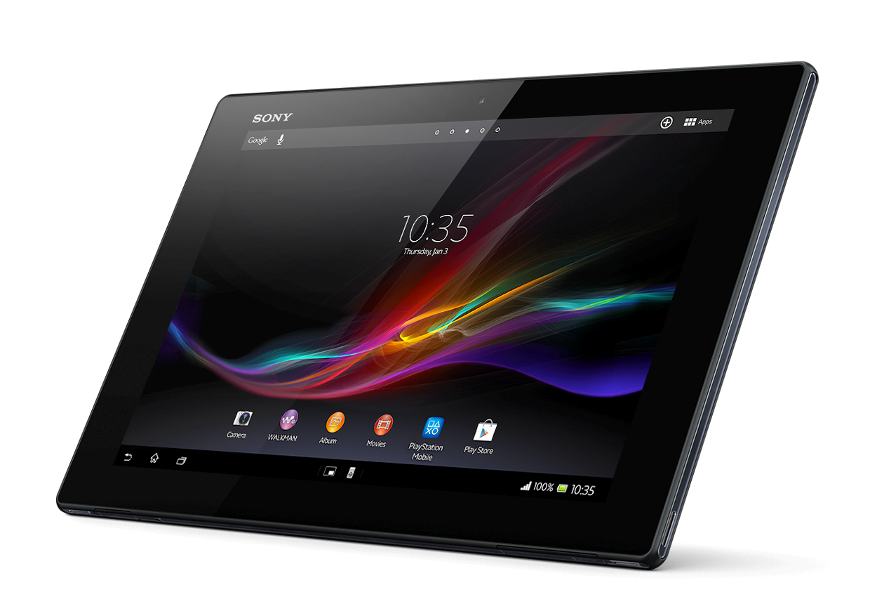 Test af Sony Xperia Tablet Z