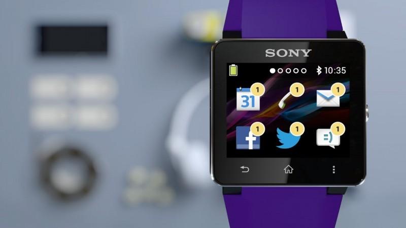 Test af Sony smartwatch 2