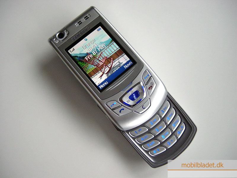 Samsung SGH-D410 på vej