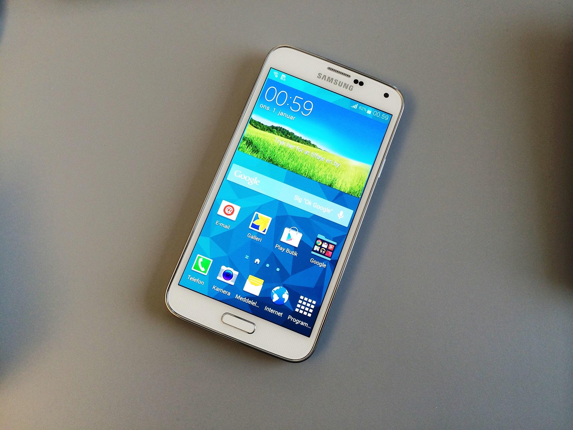 Test af Samsung Galaxy S5