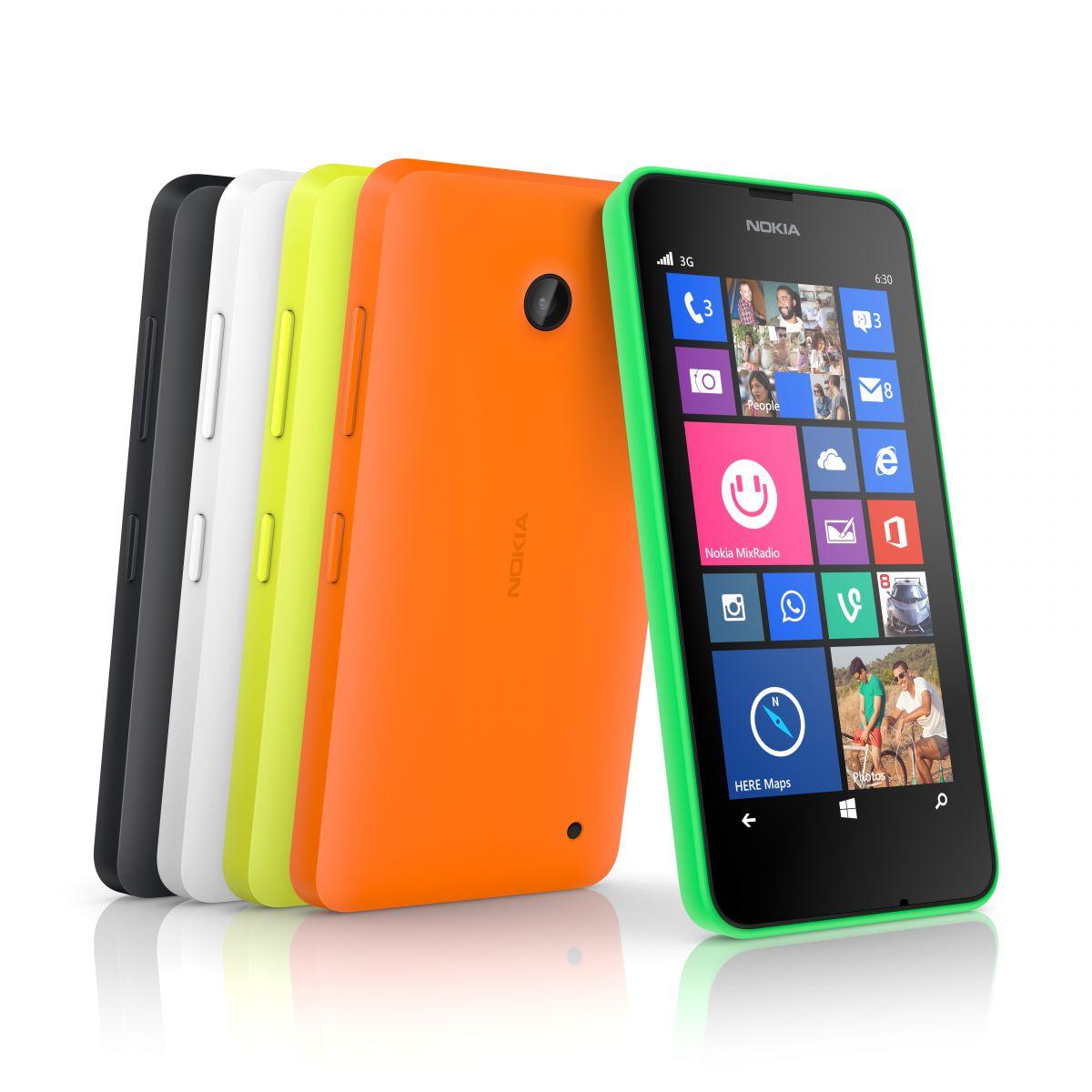 Nokia Lumia 630 er nu på vej til Danmark