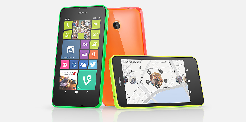 Nu lander Nokia Lumia 635 i Danmark