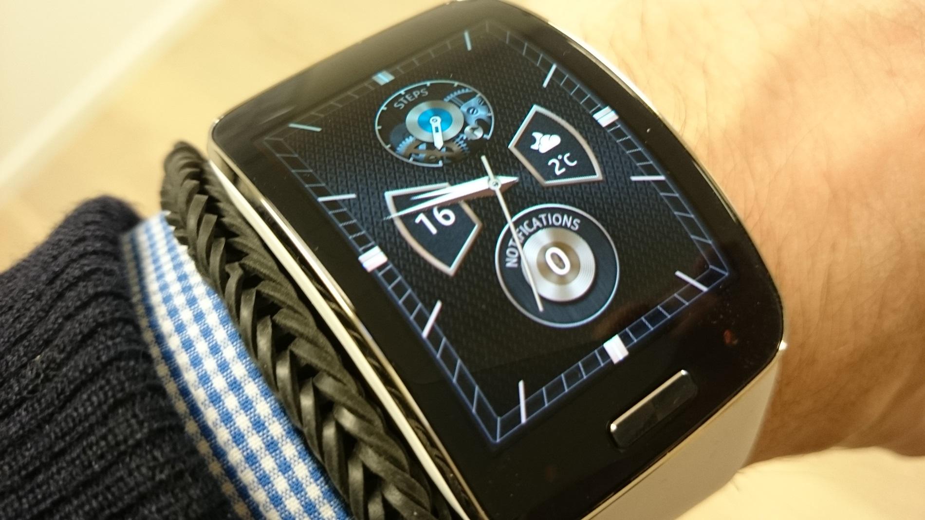 Billedgalleri af Samsung Gear S