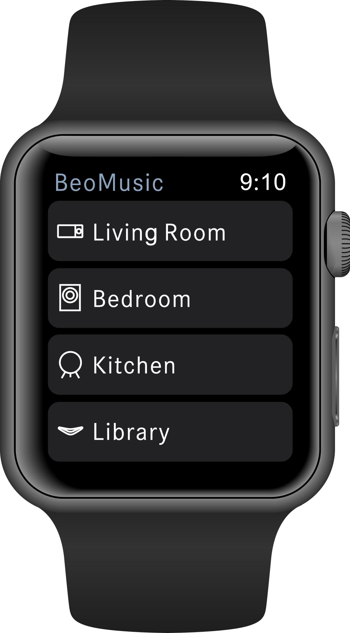 Bang & Olufsen BeoMusic App er klar til Apple Watch