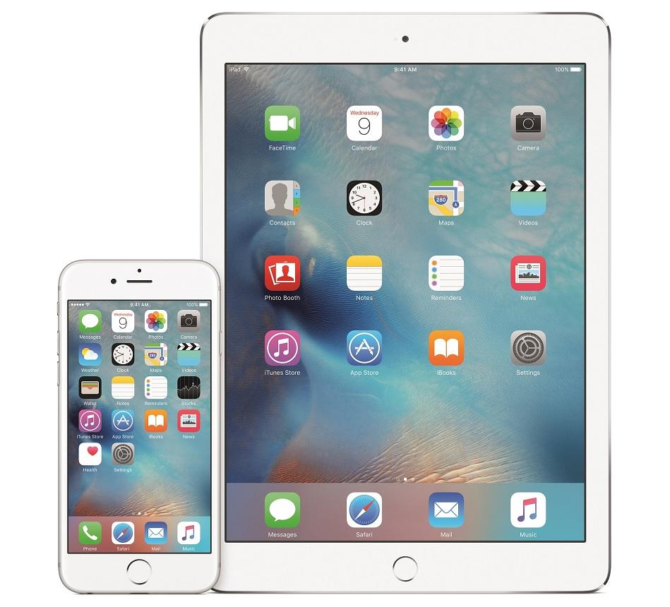 iOS9 frigives onsdag den 16. september