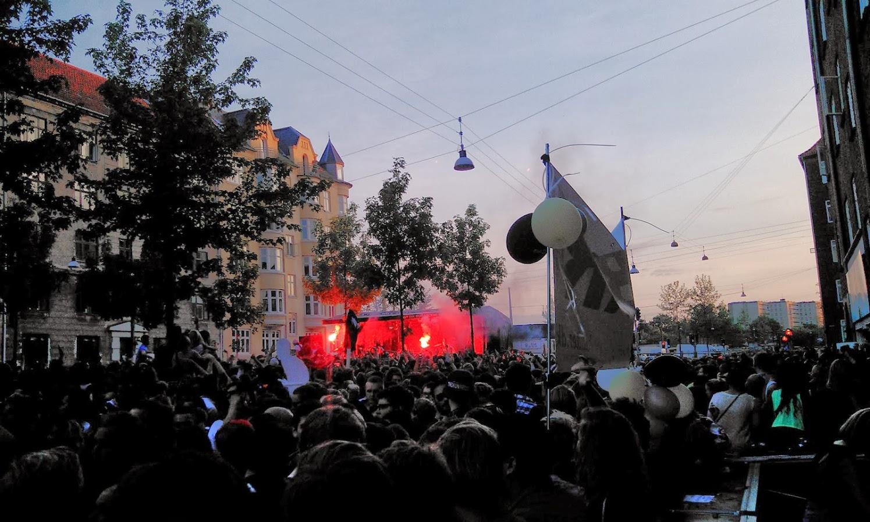 Mobilforbrug toppede under Distortions gadefester