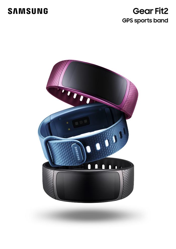 Samsung Gear Fit 2 og Gear IconX