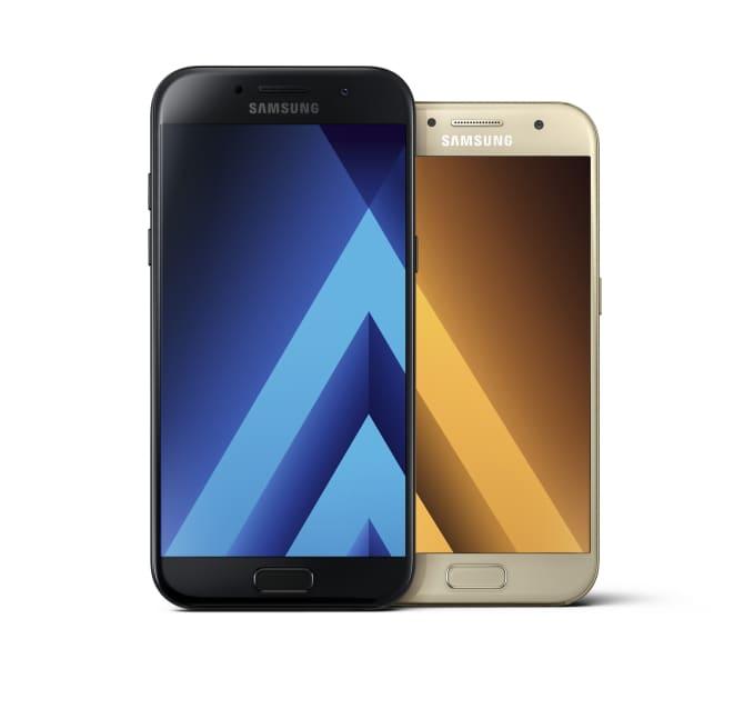 Samsungs nye Galaxy A-serie