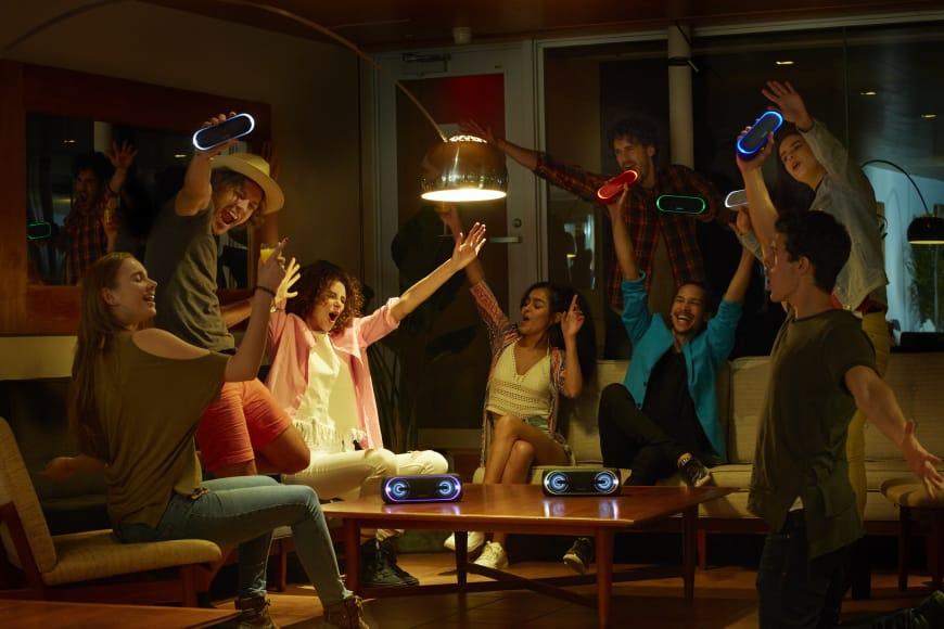 Sony EXTRABASS sætter gang i festen hvor som helst