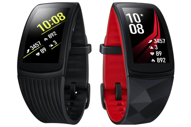 Samsung Gear Sport, Gear Fit2 Pro og Gear IconX
