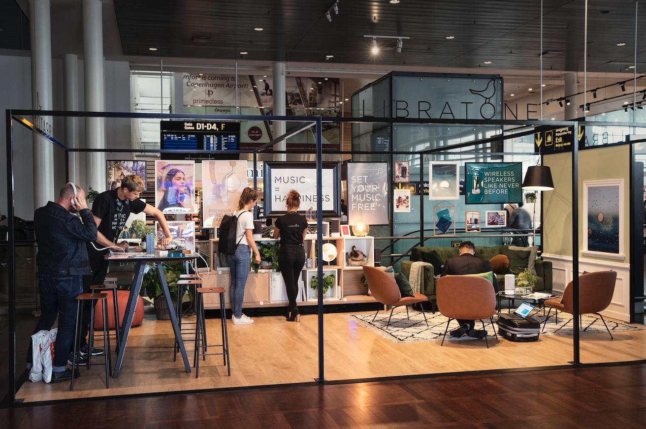 Libratone åbner sin første danske loungebutik