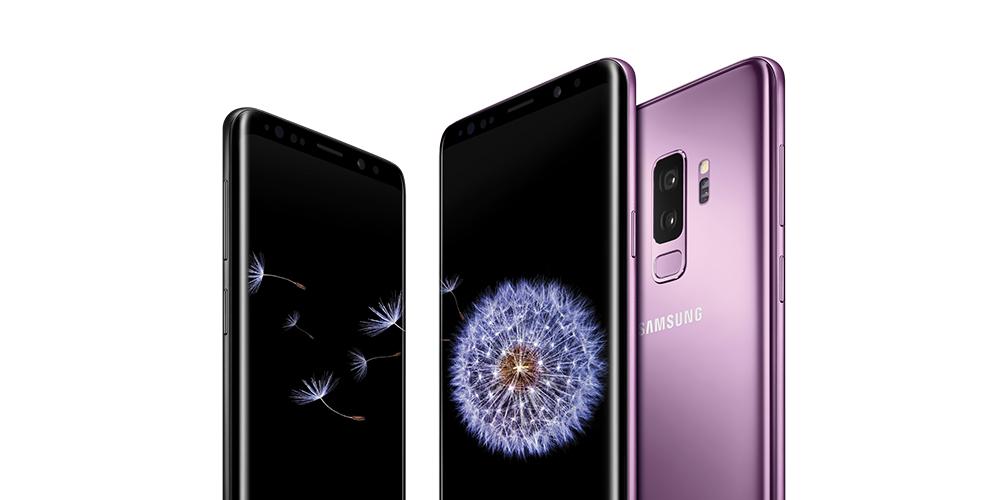 Nu kommer Samsung S9 og S9+ i 3's butikker
